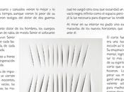 """movimiento puro manifiesto blanco"""" texto inspirado Lucio Fontana"""