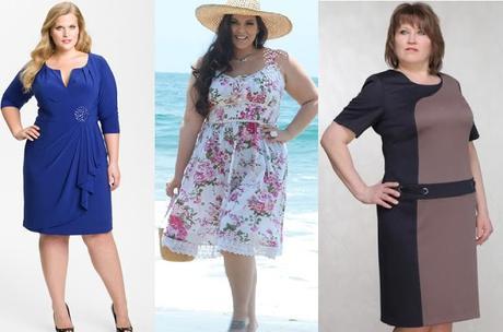 Modelos de vestidos para gorditas modernos