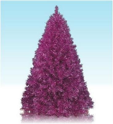 Arboles Morados para Decorar en Navidad