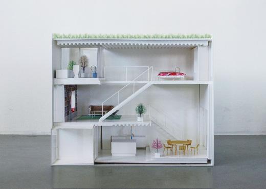 Casa Moderna Adosada Entre Edificios Antiguos Paperblog