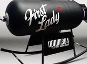 First Lady mesedora pin-up
