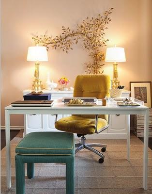 Mejorando Ikea: un despacho chic - Paperblog