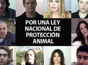 famosos exigen Nacional Protección Animal