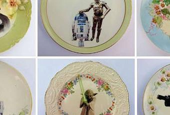 Platos decorativos modernos top el mgico encanto de los - Platos decorativos modernos ...