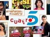 Todos intercambios entre Cuatro Telecinco