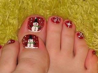 Decoracion De Unas Para Navidad Paperblog - Decoracion-uas-navidad