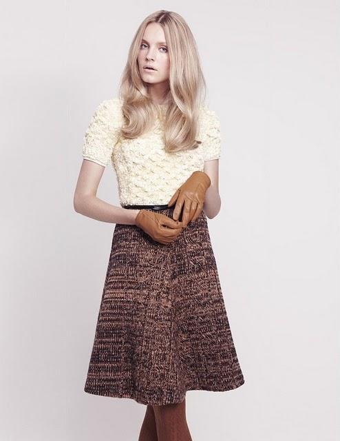 60a2a9a2f Faldas años 60. / midi skirts. - Paperblog