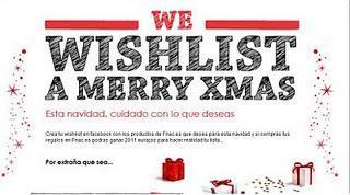 We wishlist a Merry Xmas