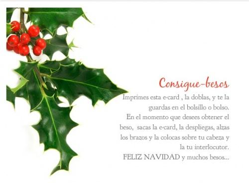 Mensajes navideños.