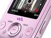 Sony Ericsson Zylo rosa para chicas