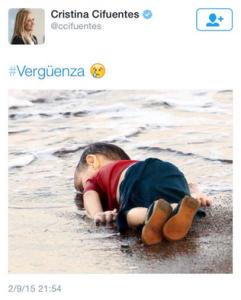 solidaridad - niño ahogado