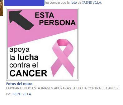 solidaridad - cáncer