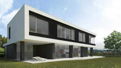 casa moderna y minimalista en eslovenia paperblog