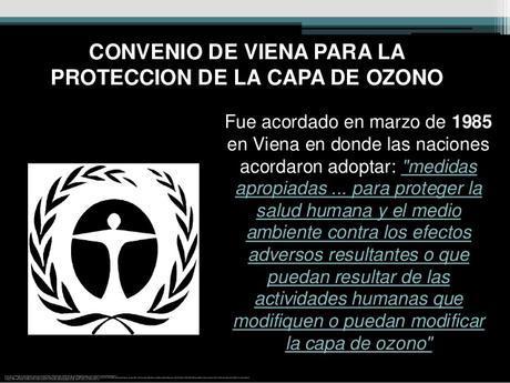 Manual del convenio de Viena para la proteccion de la capa de ozono