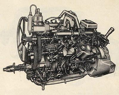 Primer motor V8 de Estados Unidos