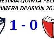 Quilmes:1 Colón:0 (Fecha 25°)