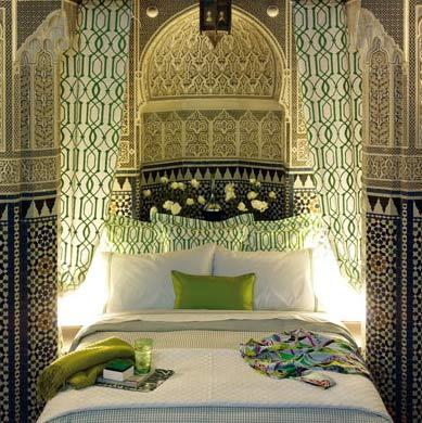 Dormitorio estilo rabe paperblog for Muebles estilo arabe