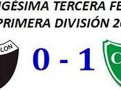 Colón:0 Sarmiento Junín:1 (Fecha 23°)