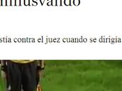 """Hincha agrede árbitro silla ruedas, ejemplo minusvalía medios """"retrasados"""""""