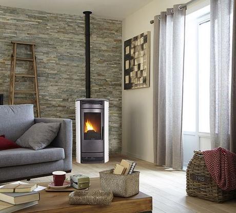 Las mejores estufas y chimeneas paperblog - Estufa de pellets en un piso ...