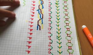 Dibujar cenefas mejora la psicomotricidad y la atenci n - Cenefas para dibujar ...