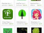 #apps para identificar plantas, arboles, hojas
