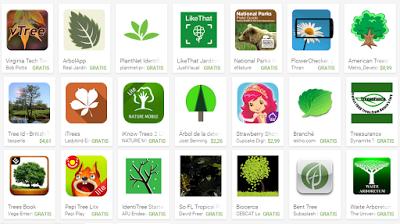 Apps para reconocer arboles