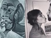 Alexa Chung como obra arte