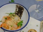 Brandada melosa bacalao tapenade olivas negras gelatina Barbadillo