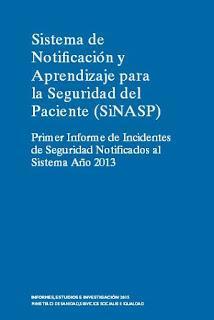 Informe SINASP útil para mostrar el potencial del sistema