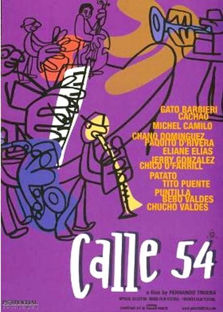 Cartel del documental Calle 54 de Fernando Trueba