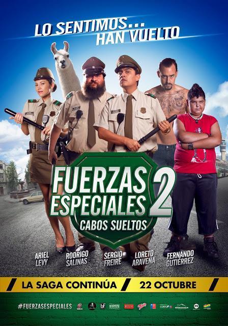 #FuerzasEspeciales2 prepara flamante estreno y gira por regiones