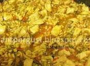 Ratatouille cajún pollo pasta