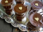 Mousse chocolate lactosa