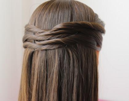 Peinado fácil y elegante