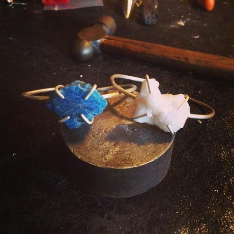 Crystallites, joyas artesanales