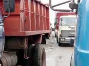 Restricción circulación camiones