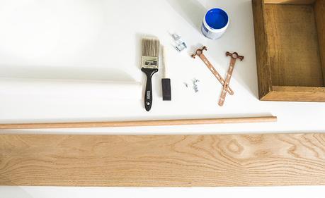 Diy organizador de utensilios de cocina paperblog for Organizador utensilios cocina