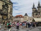 Praga, desde reloj astrónomico
