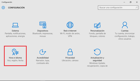 Windows 10 - Configuracion