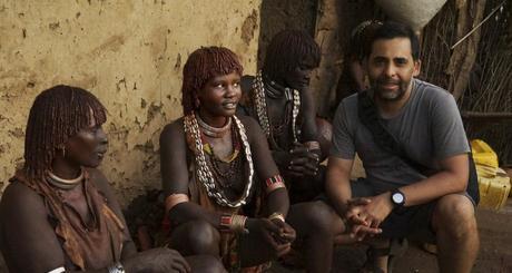 Con las mujeres de Etiopía