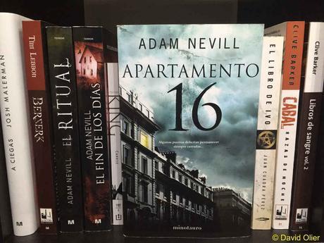 Portada del libro Apartamento 16 de Adam Nevill