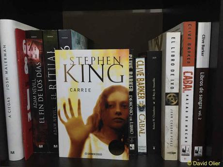 Portada del libro Carrie de Stephen King