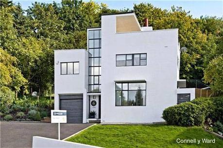 Casas modernas y contemporáneas en el Reino Unido.