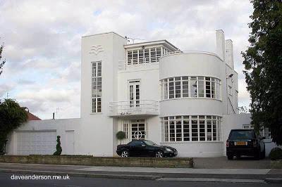 Casa residencial estilo Moderno del año 1936 en Londres, Reino Unido