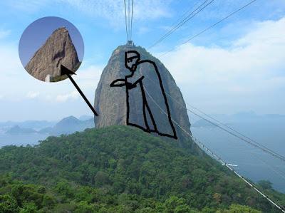 Figuras fantasmales del Pan de Azúcar, Río, Brasil, La vuelta al mundo de Asun y Ricardo, round the world, mundoporlibre.com