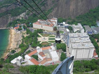 Vista desde Morro da Urca, Río, Brasil, La vuelta al mundo de Asun y Ricardo, round the world, mundoporlibre.com
