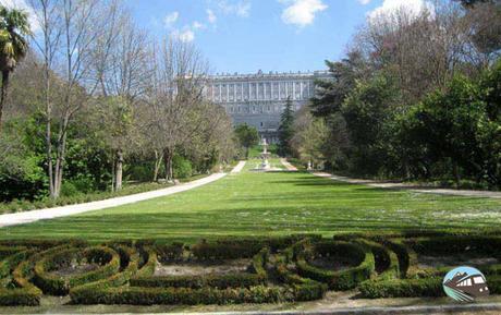 Campo del Moro en Madrid