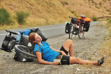 La importancia de una buena alimentación para una larga marcha cicloturista