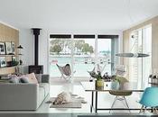 Casa Flotante Moderna Minimalista